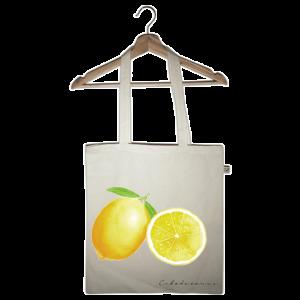 bolsa tote bag limones